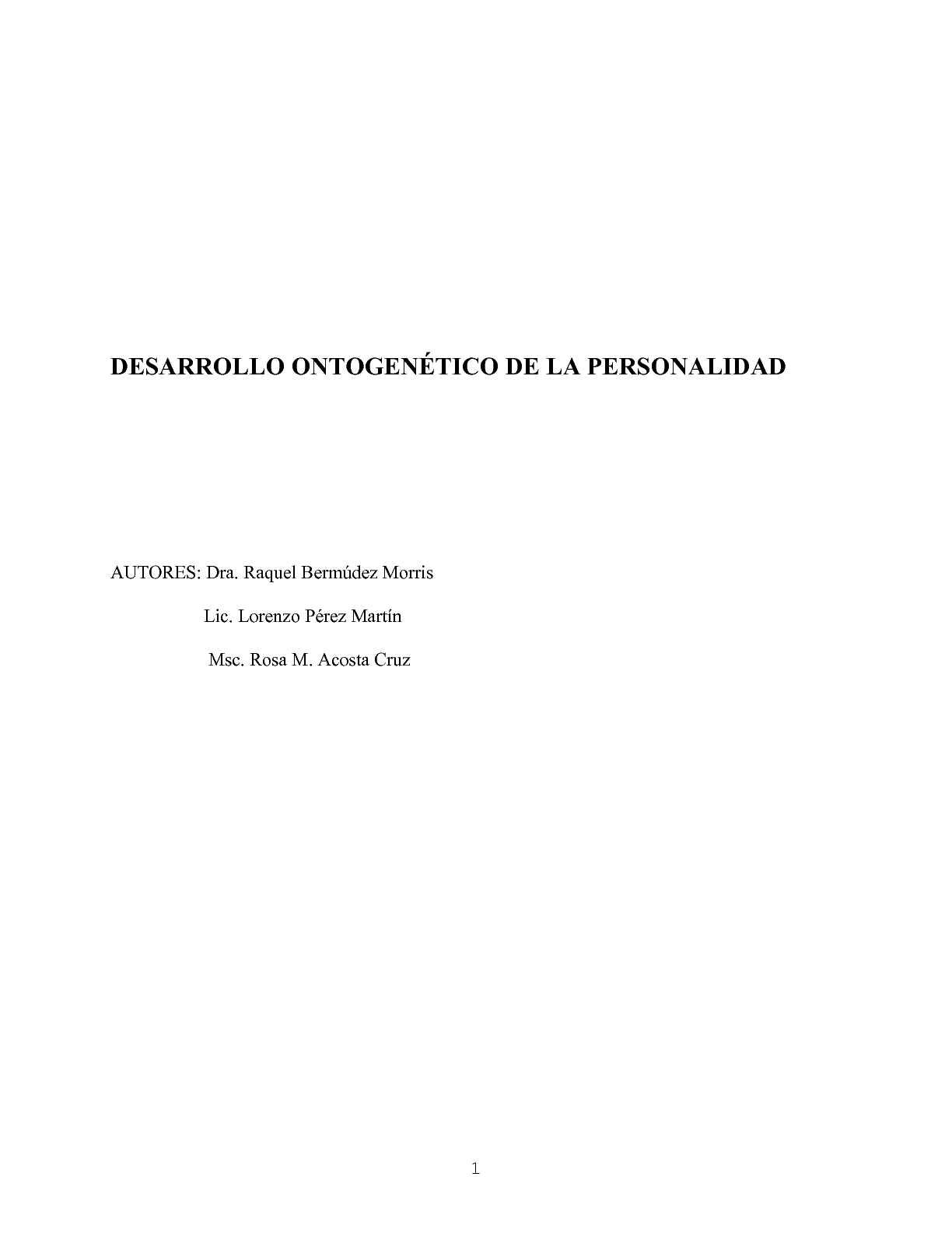 Calaméo - LIBRO Desarrollo ontogenético
