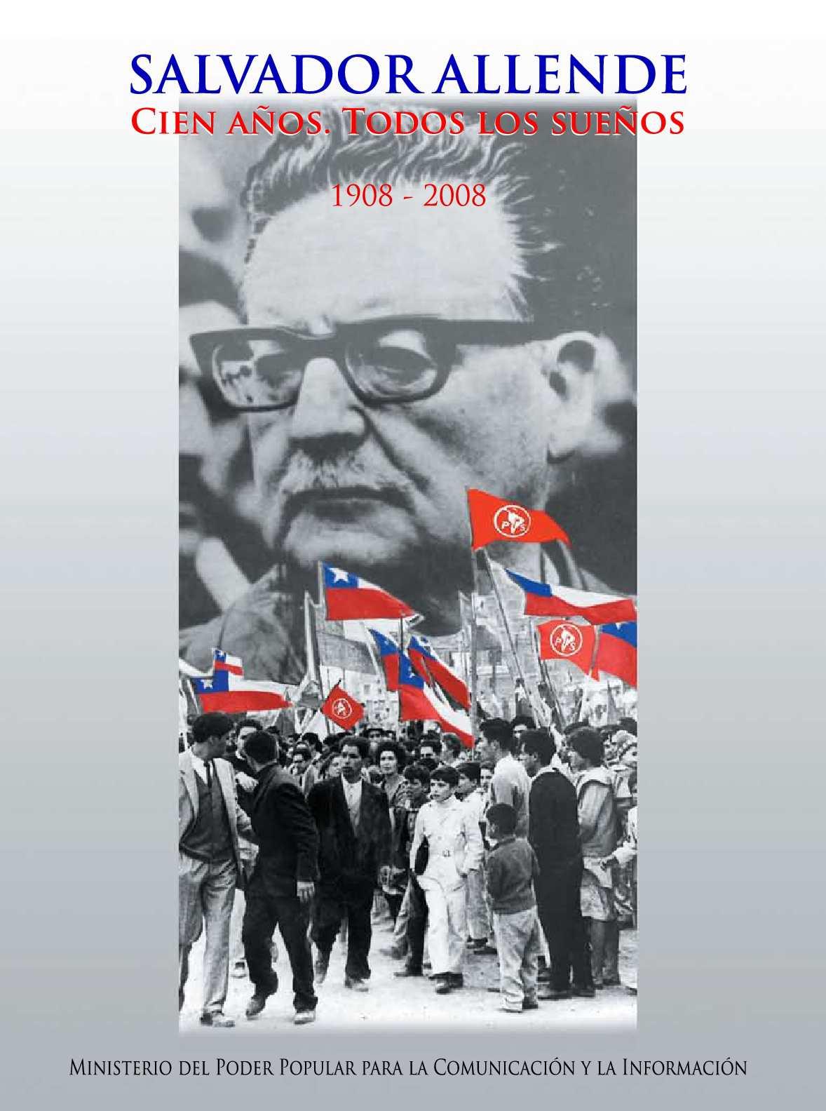 Calam O Ortizpozo An Bal Salvador Allende Cien A Os Todos  # Muebles Javier Pinochet
