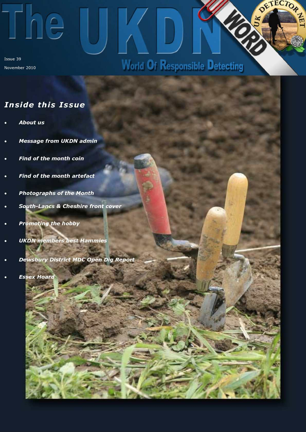 UKDN Word Issue 39 - November 2010
