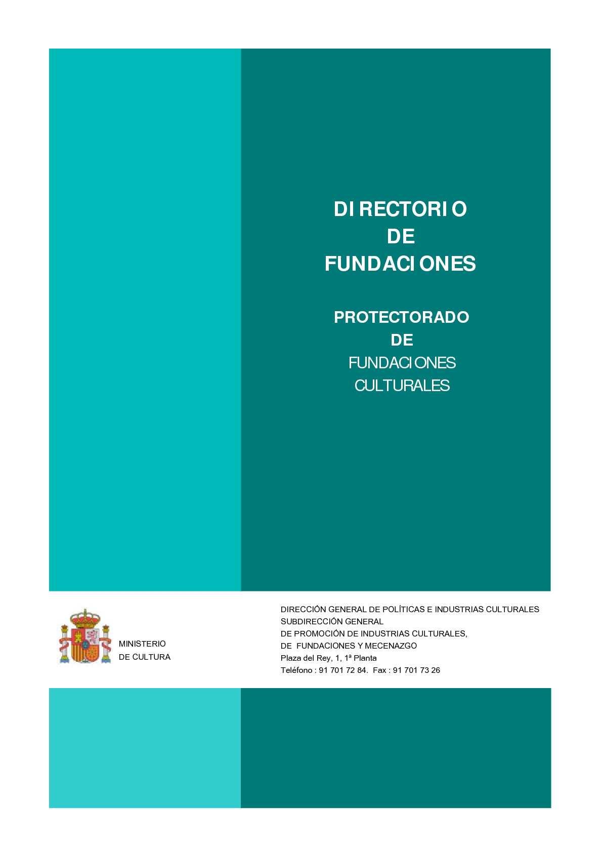 Directorio de Fundaciones