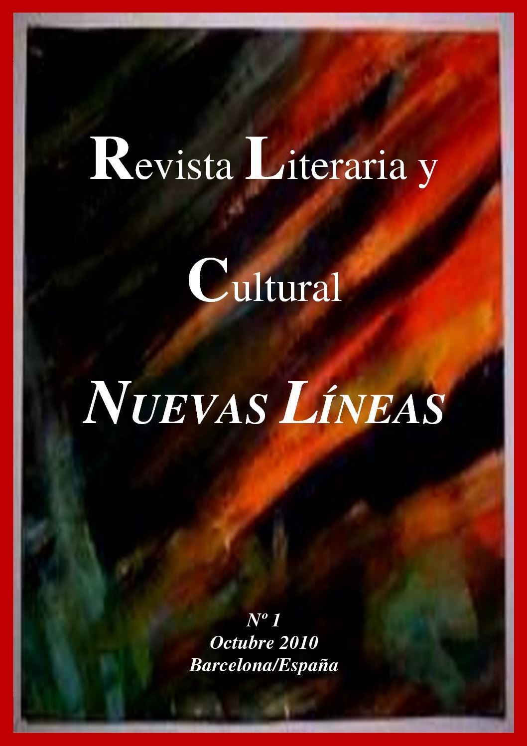 Calaméo - Revista Literaria y Cultural NUEVAS LÍNEAS - Octubre de ...