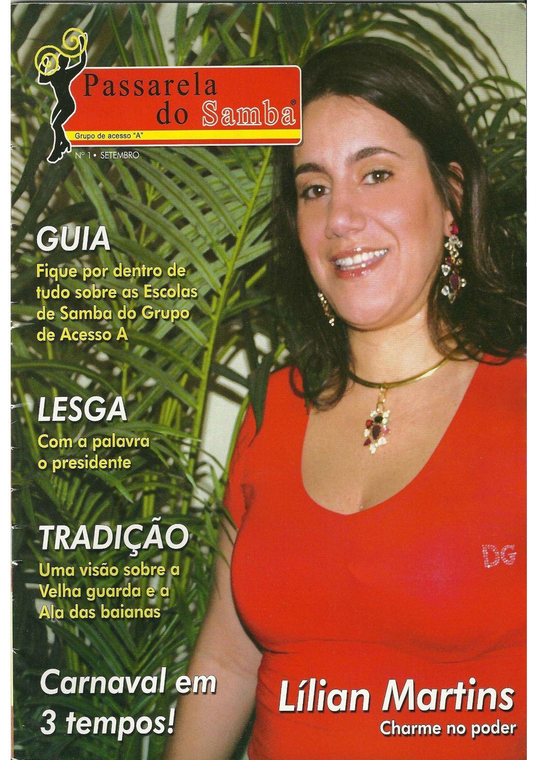 Passarela do Samba - edição 1