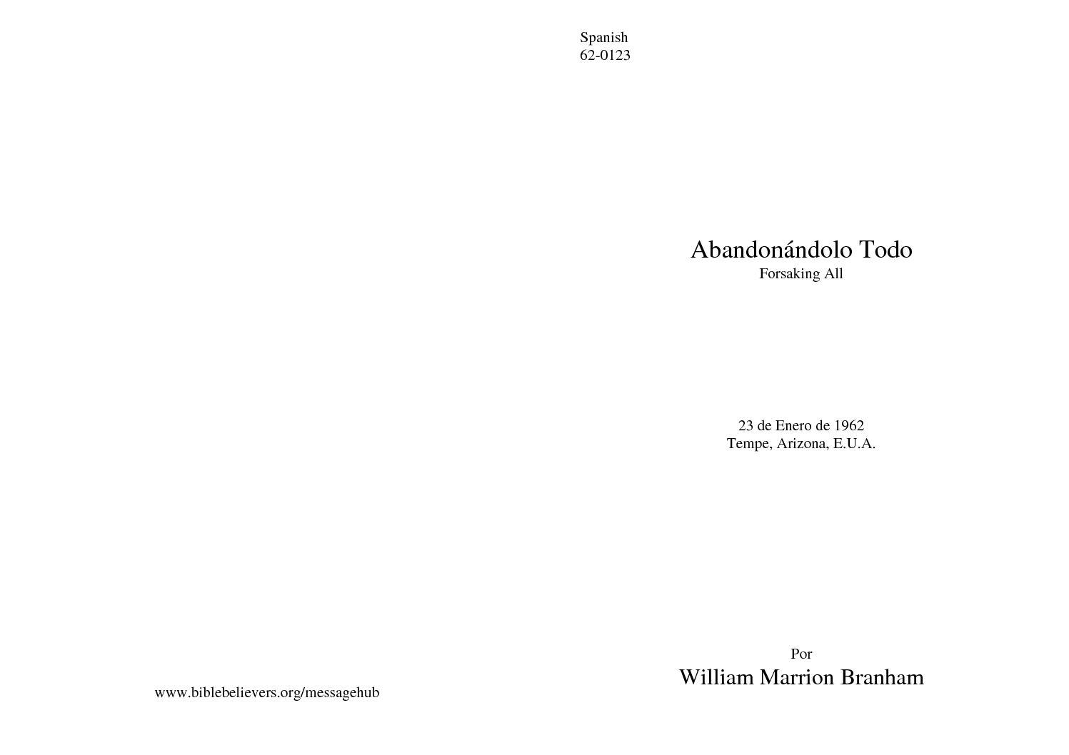 62-0123 TODO ABANDONANDOLO