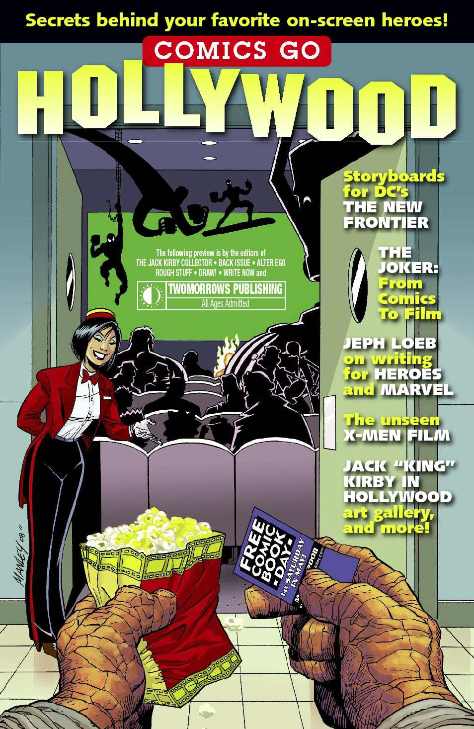 Comics Go Hollywood