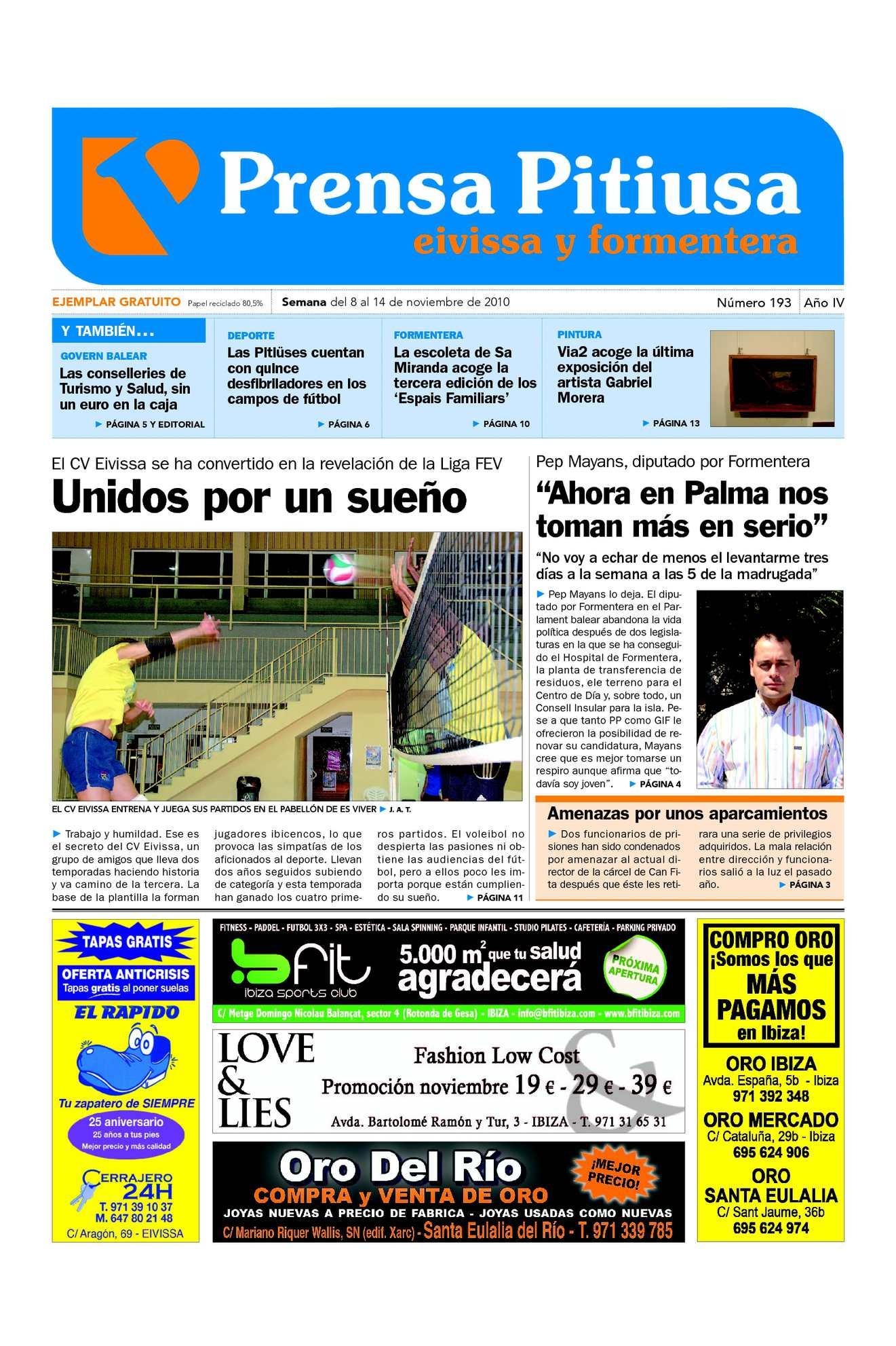 Calaméo - Prensa Pitiusa edición 193