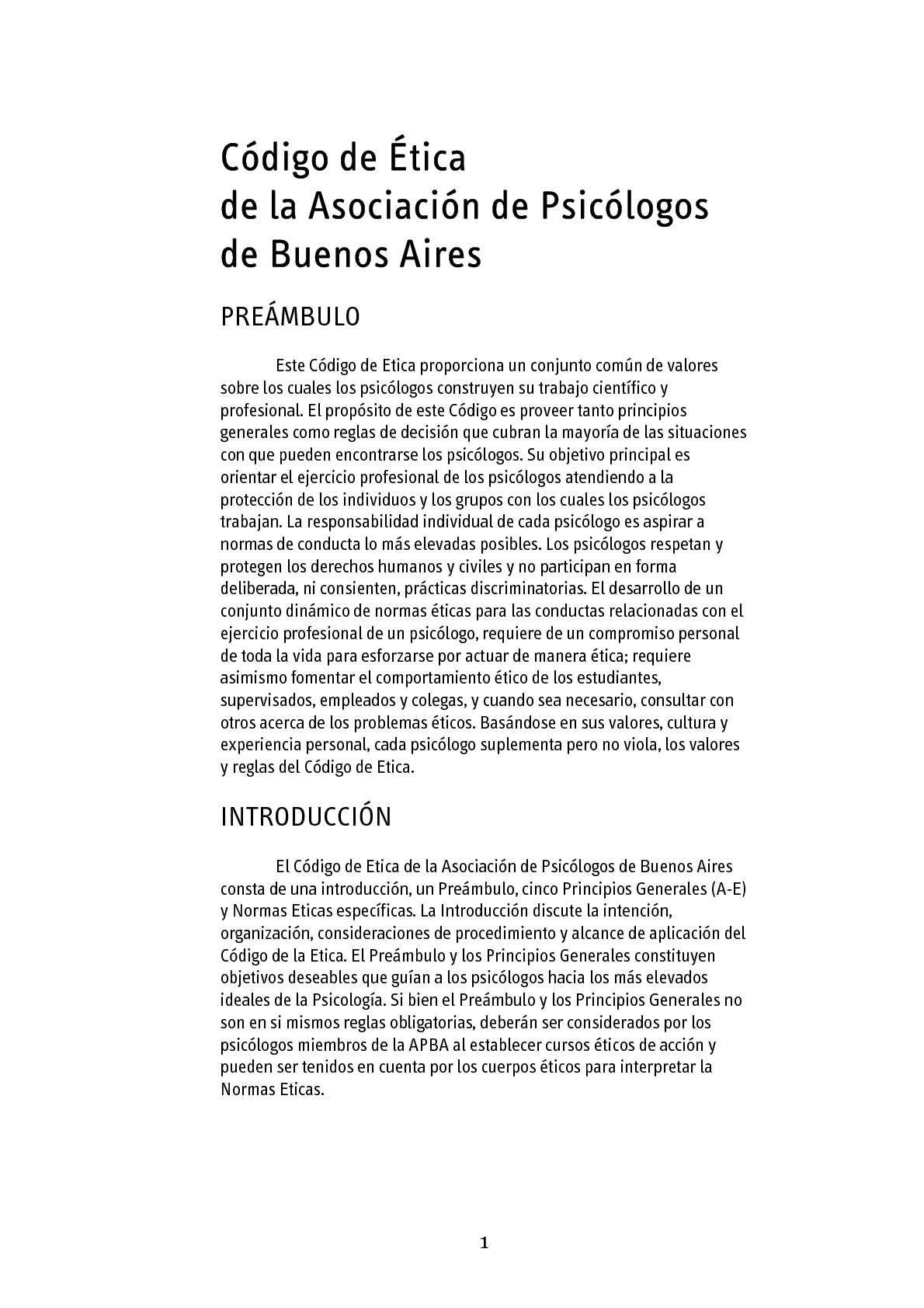 Calaméo - Etica profesional en psicologia de latinoamerica