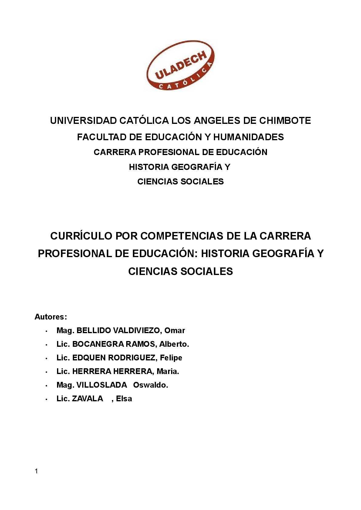 Calaméo - CURRÍCULO POR COMPETENCIAS DE LA CARRERA PROFESIONAL DE ...