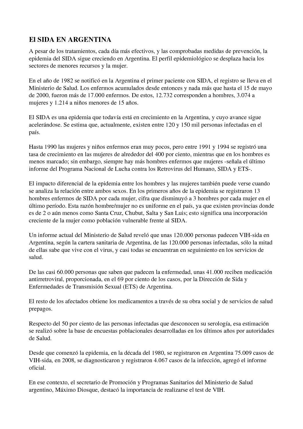 Calaméo - sida en la Argentina