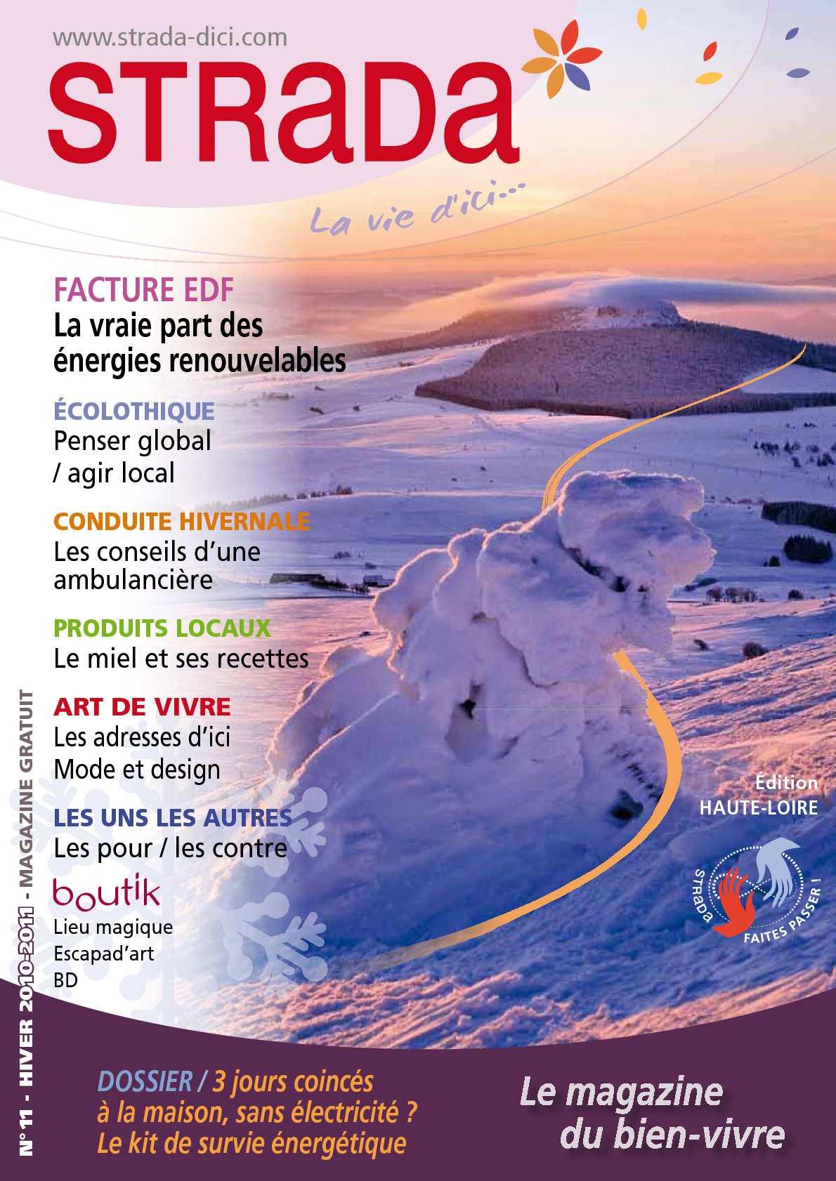 Calaméo - N°11 STRADA La vie d ici   hiver 2010-2011  dossier