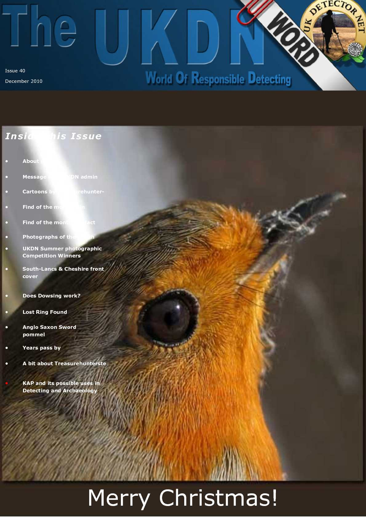 UKDN Word Issue 40 - December 2010