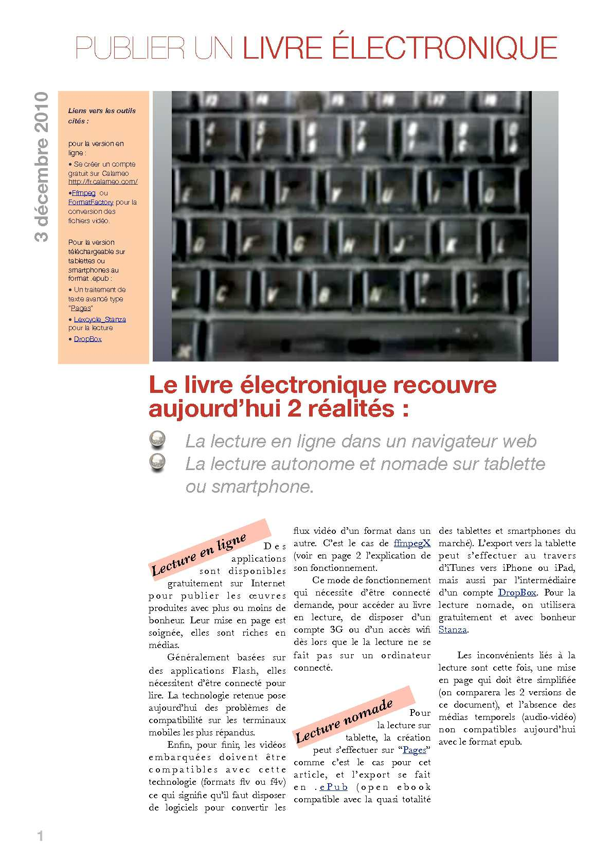 lire pdf sur tablette