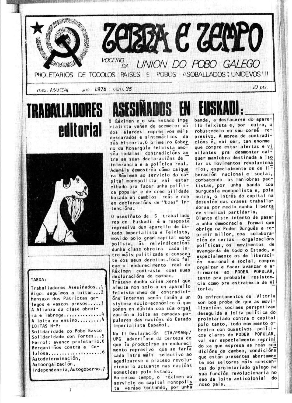 Terra e Tempo nº 35 (Marzal, 1976)