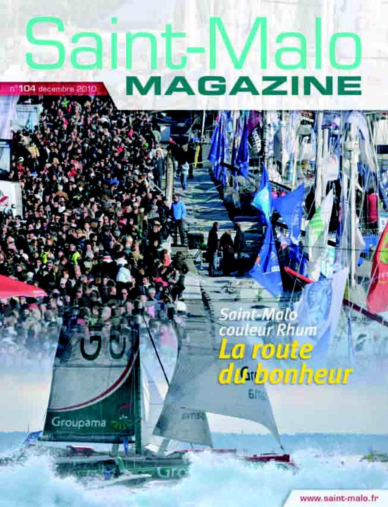 Calam o saint malo magazine 104 for La fontaine aux cuisines
