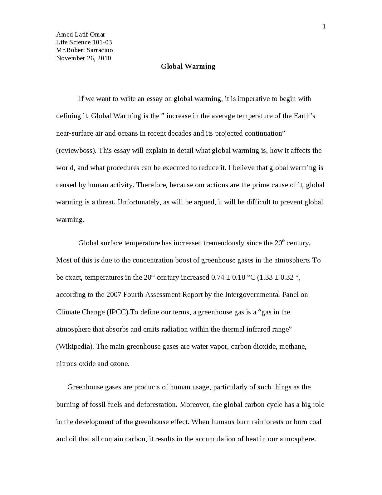 Essay On My Mother In English  Locavores Synthesis Essay also Example Of English Essay Calamo  Global Warming Marriage Essay Papers