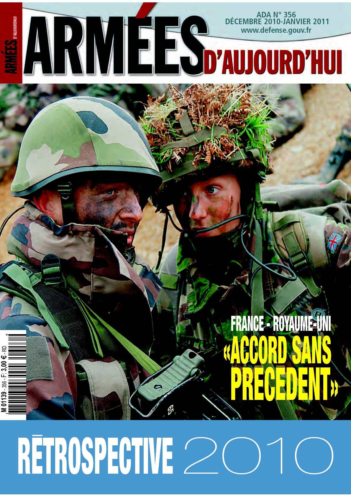 Armées d'aujourd'hui n° 356