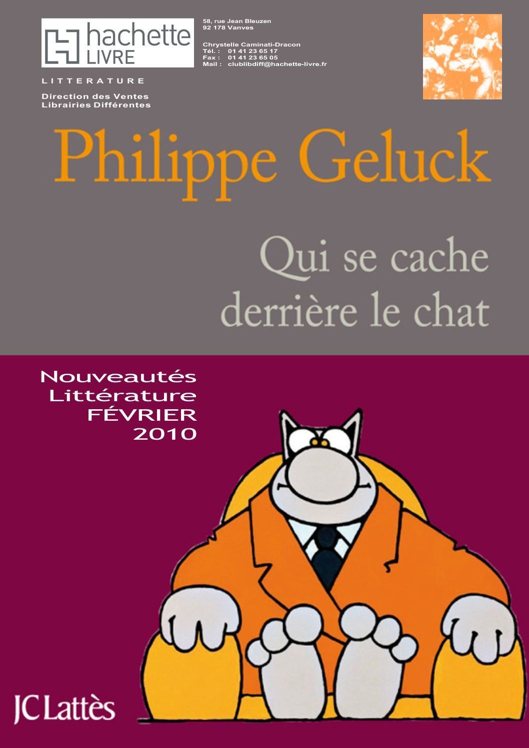 Calaméo - Catalogue des Nouveautés Littérature Février 2011 cf18932e006