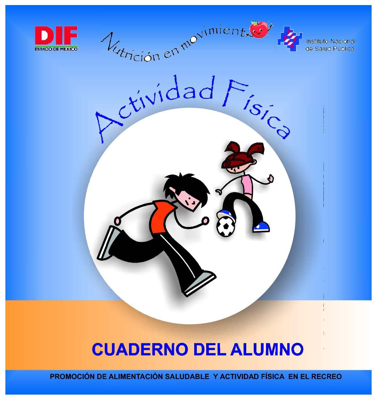 Actividad Física: Cuaderno del alumno