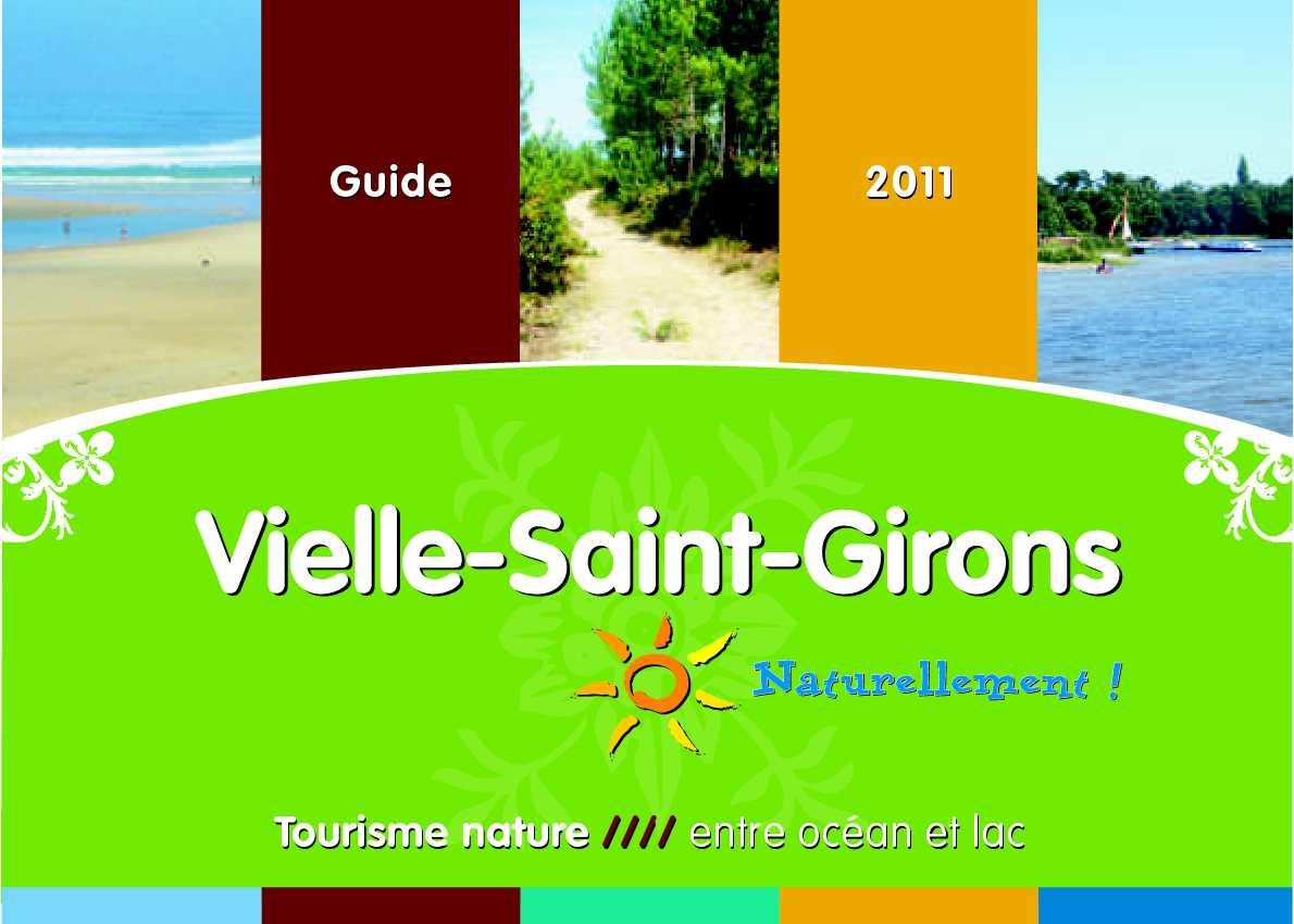 Calam o office de tourisme de vielle saint girons landes brochure 2011 - Office tourisme st girons ...