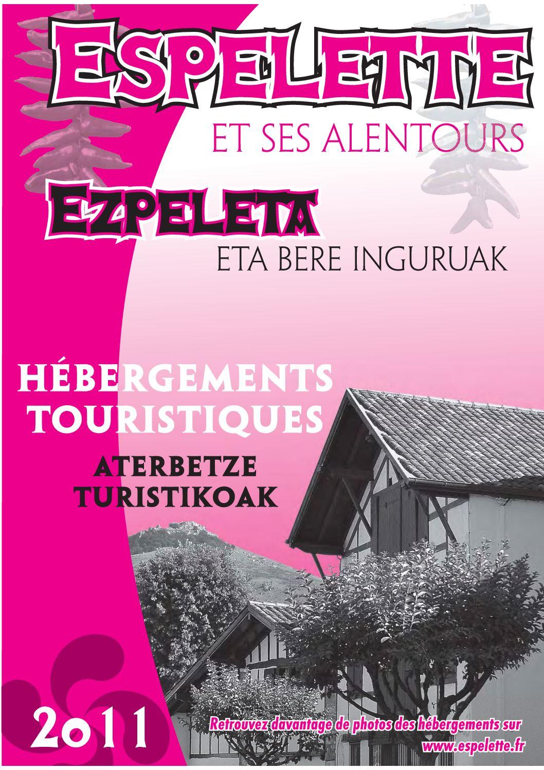 Hébergements touristiques - Espelette - Pays Basque