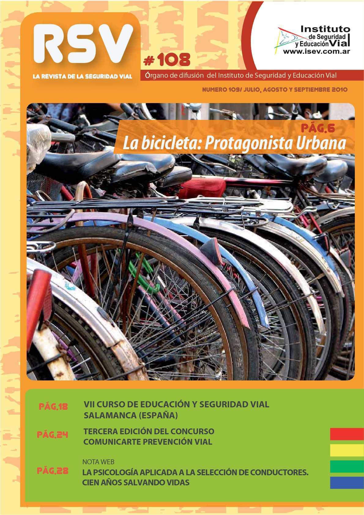 Calaméo - Revista SEGURIDAD VIAL Nro. 108