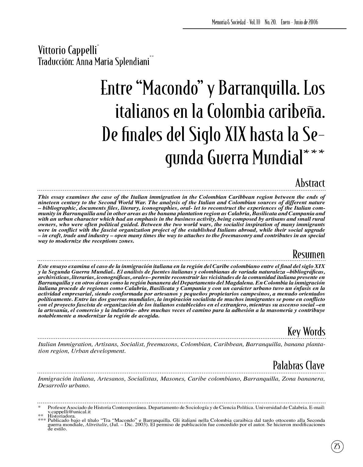 Essay on colombian immigration