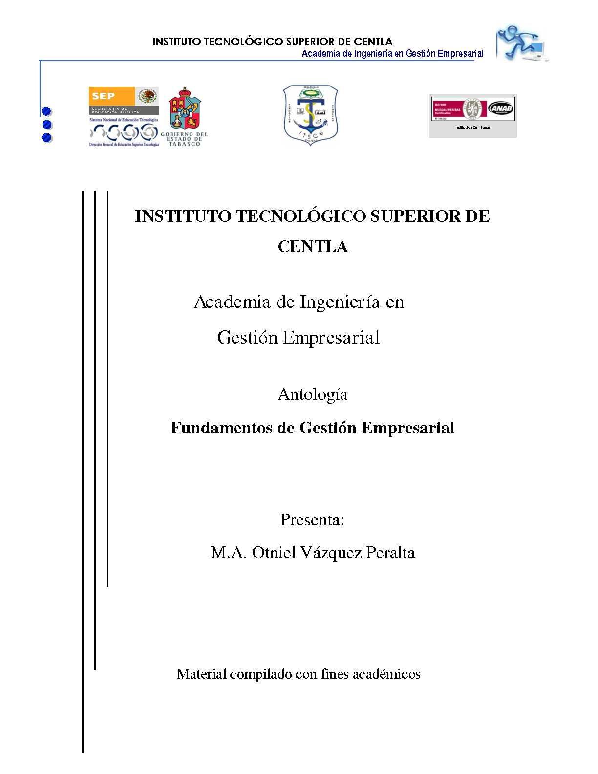 Calaméo - Antologia de Gestion Empresarial