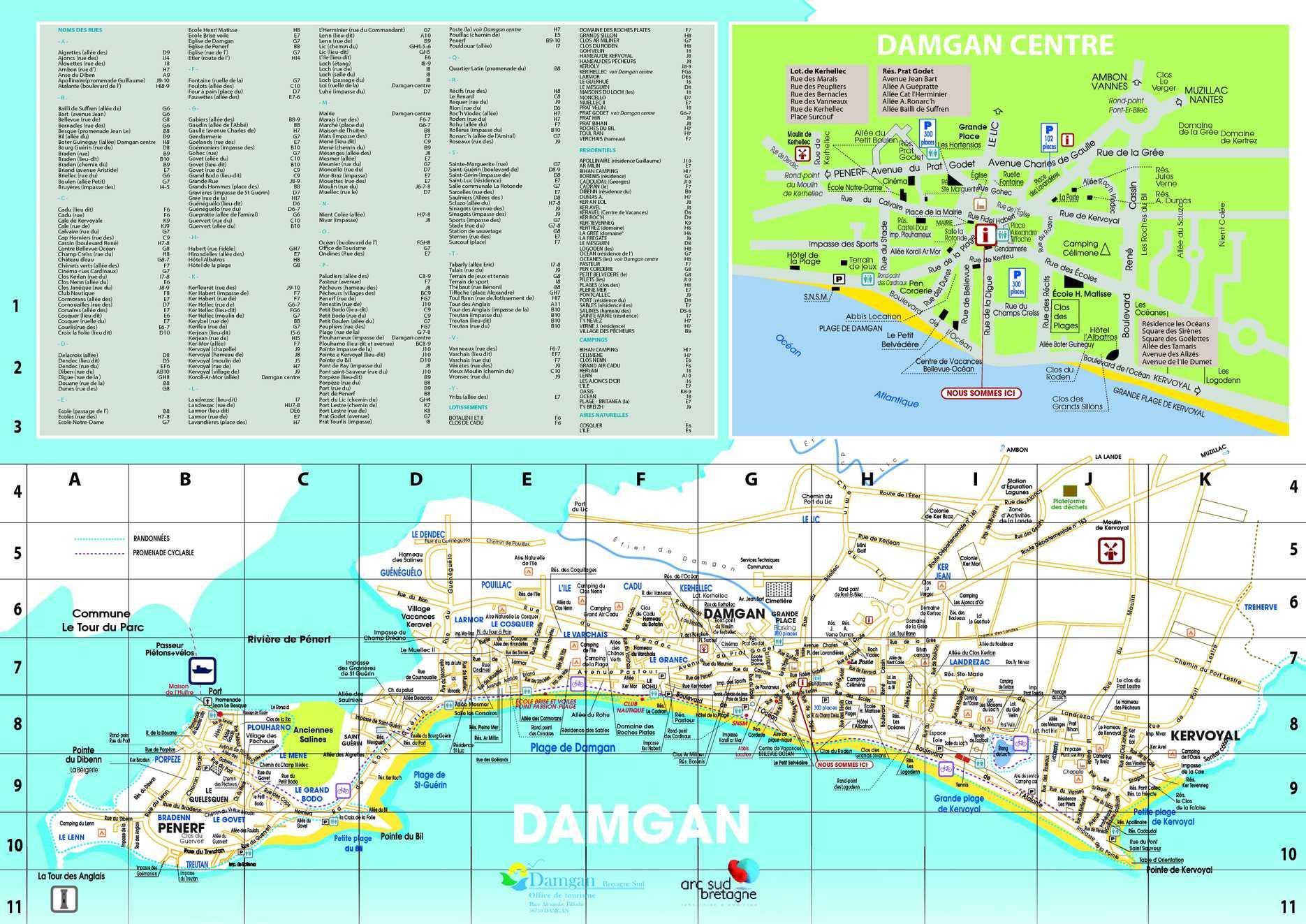 Calam o plan damgan 2011 1 - Residence de vacances cotiere coronado ...