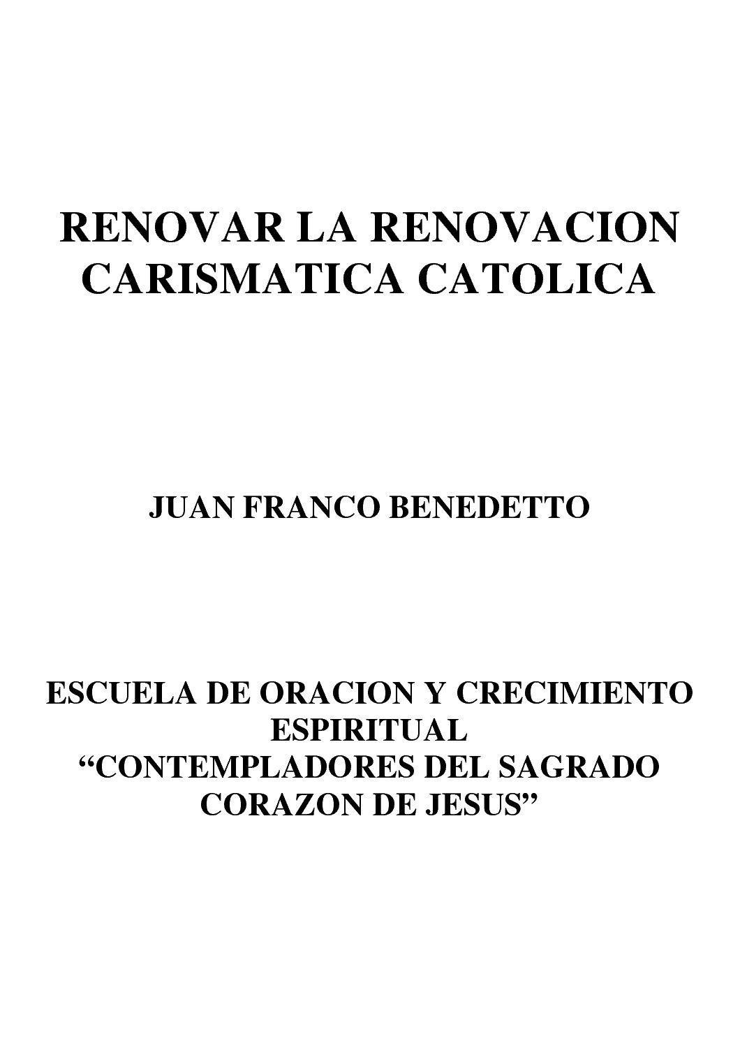 4 RENOVAR LA RCC