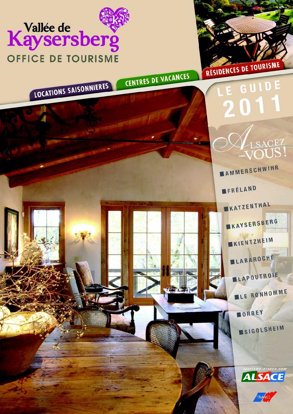 Calameo Guide Des Locations Saisonnieres Centres De Vacances Et