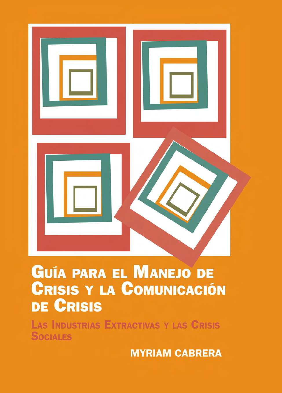 Calaméo - Guía para el Manejo de Crisis y la Comunicación de Crisis