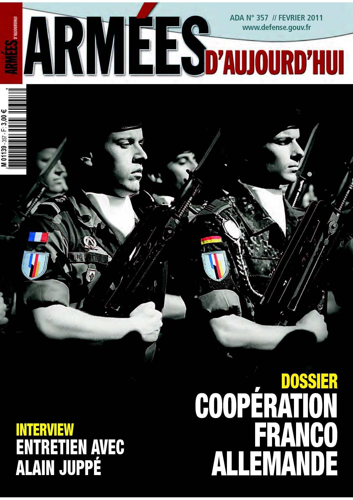 Armées d'aujourd'hui n° 357