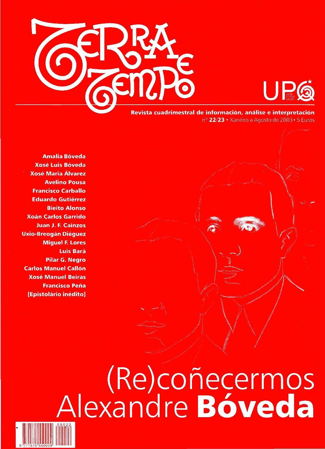 Terra e Tempo nº 22-23 (Xaneiro a Agosto de 2003)