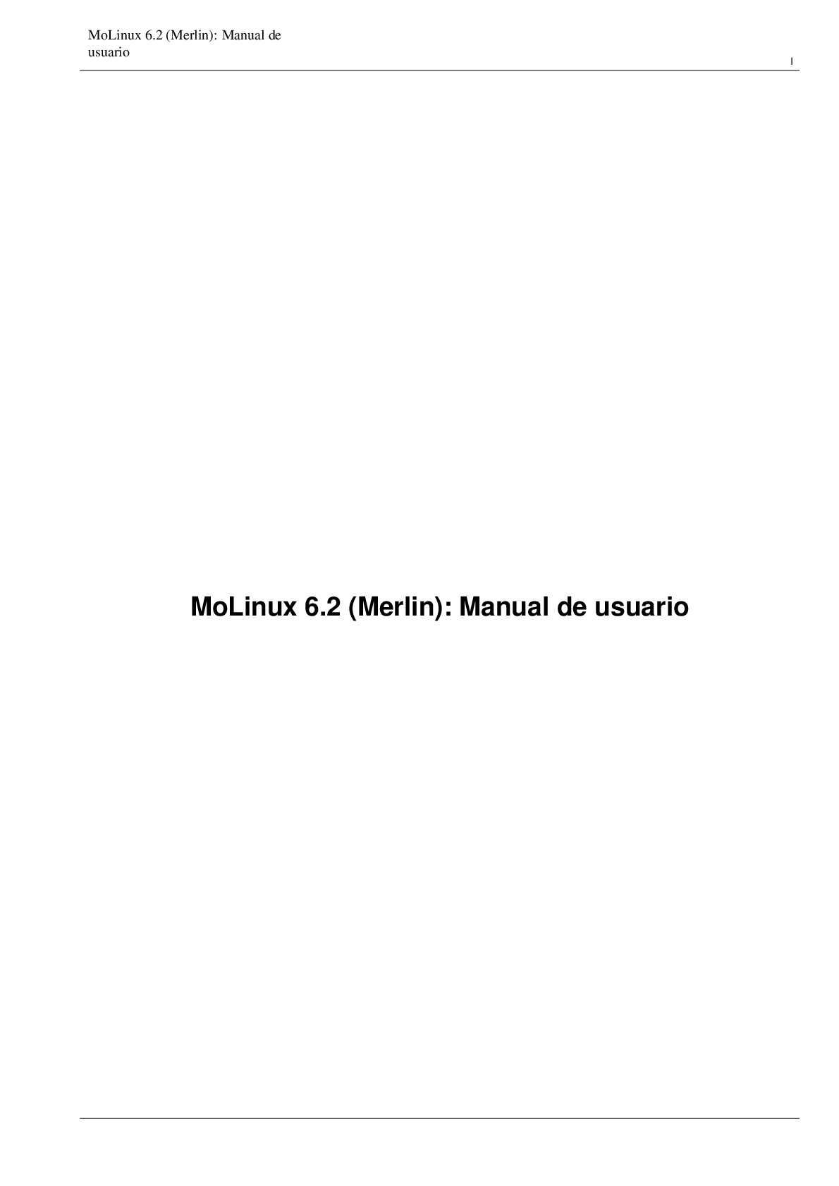 Calaméo - MANUAL DE USUARIO MOLINUX MERLIN. ASOVIALBA.
