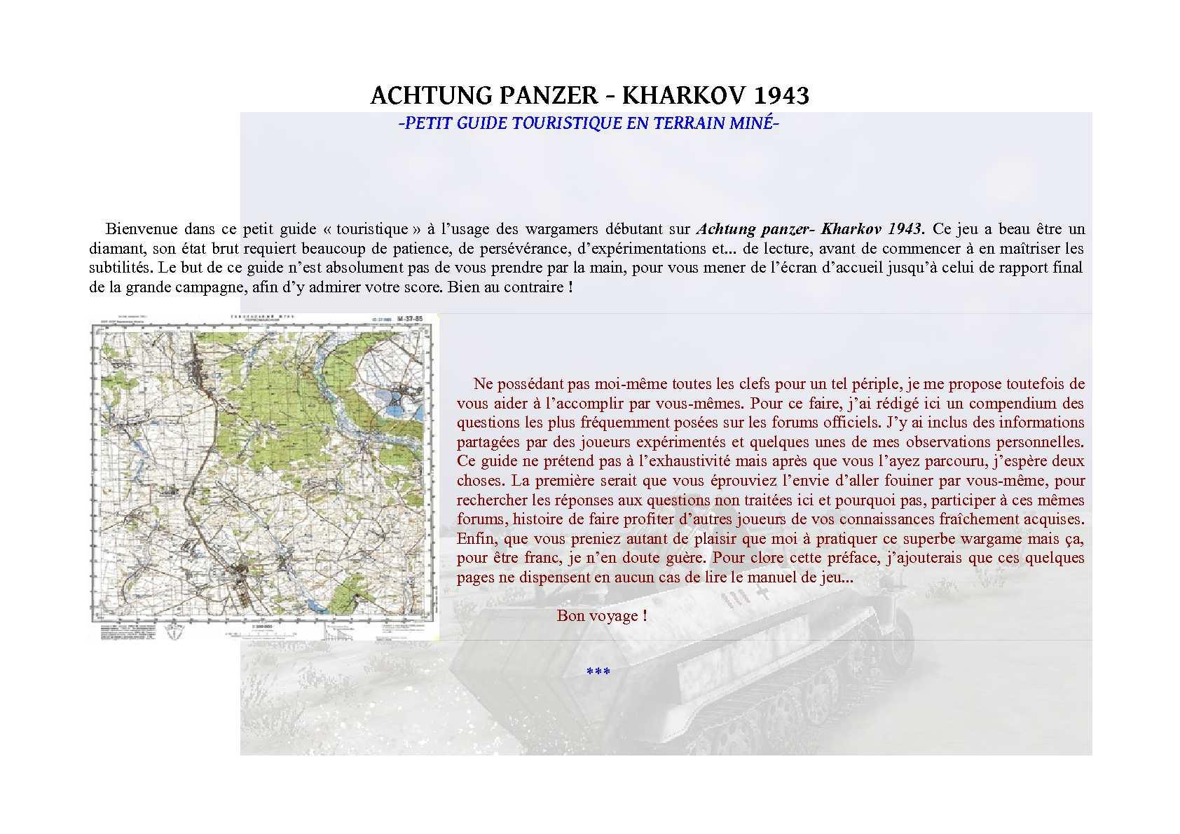 Guide Kharkov 1943