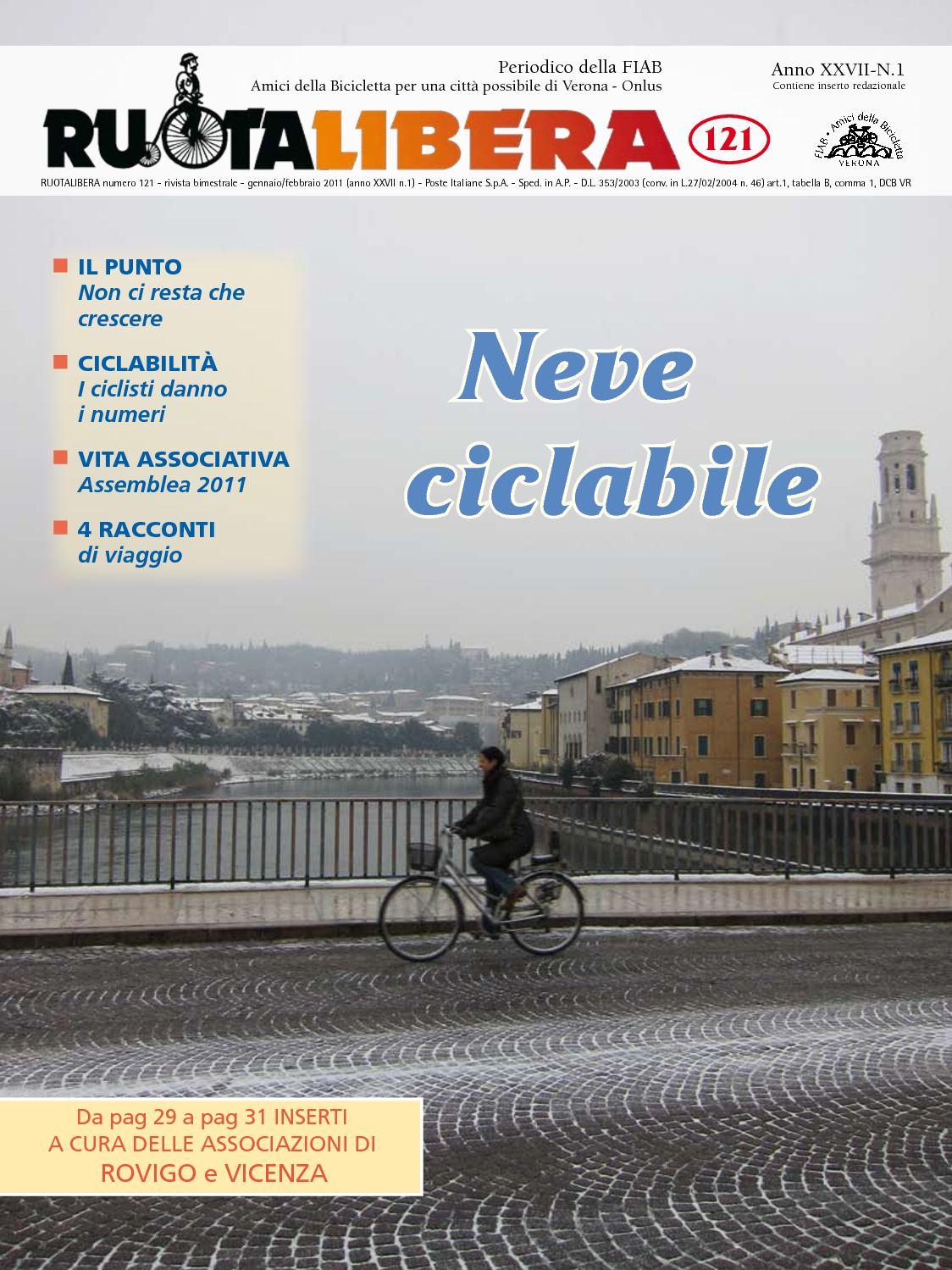 Ruotalibera 121 (gennaio/febbraio 2011) - FIAB AdB Verona