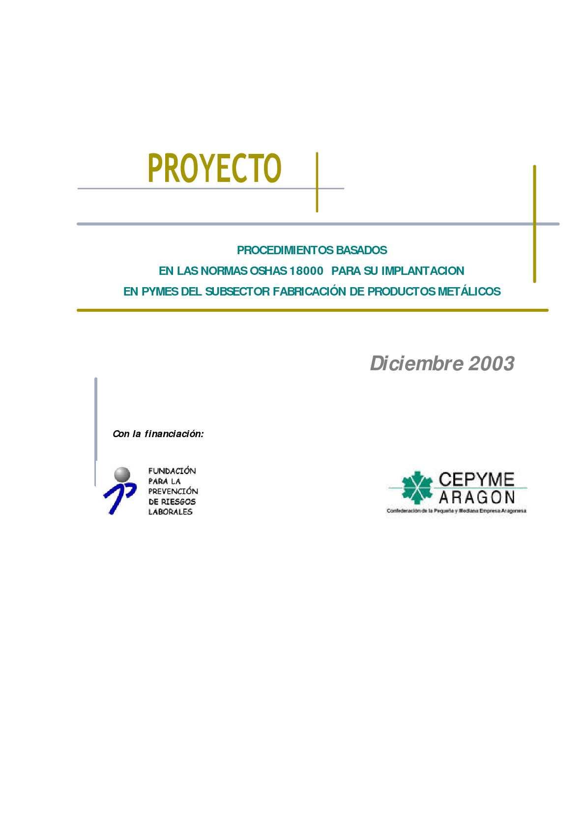 Calaméo - EJEMPLO DE IMPLANTACIÓN DE UN SISTEMA DE GESTIÓN DE PRL A ...