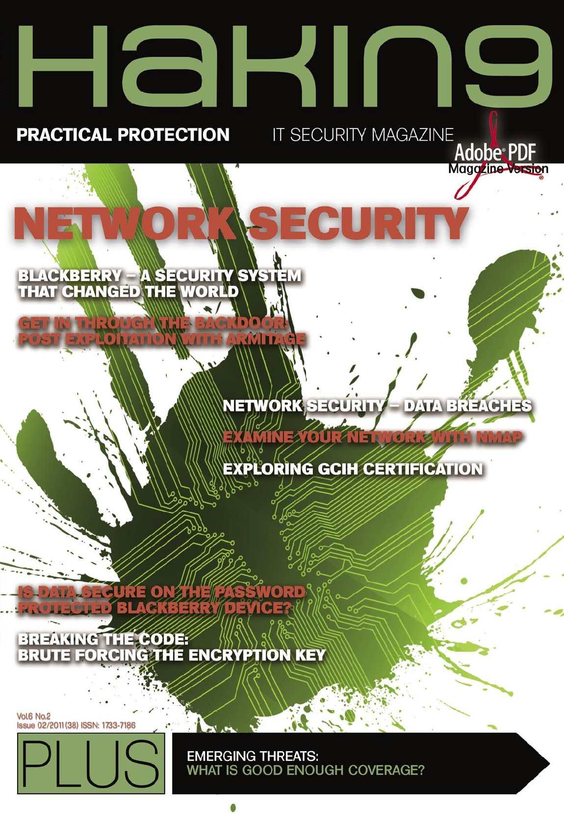 Hakin9 mag du 02/2011 : network security