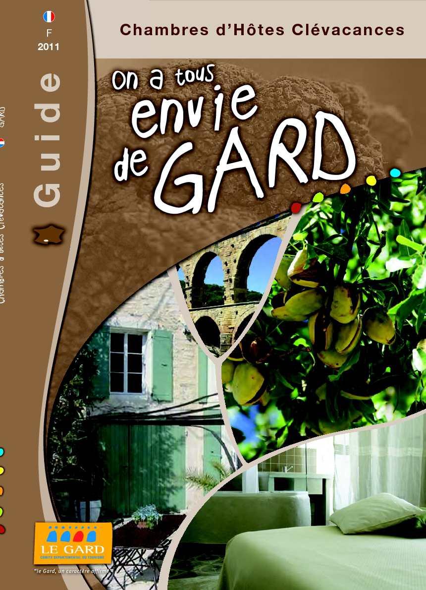 Calam o brochures chambres d 39 h tes cl vacances 2011 - Chambre d hote clevacances ...