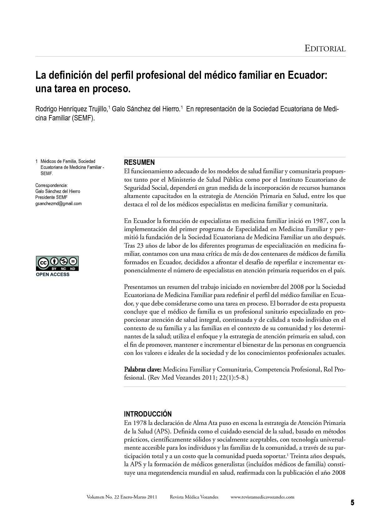 Calaméo - La definición del perfil profesional del médico familiar ...