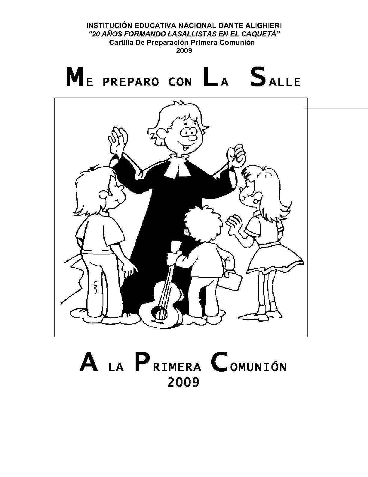 Calaméo - PREPARACIÓN PRIMERA COMUNIÓN