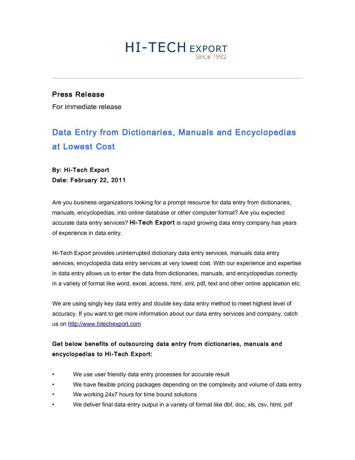 calaméo data entry from dictionaries, manuals and encyclopedias at
