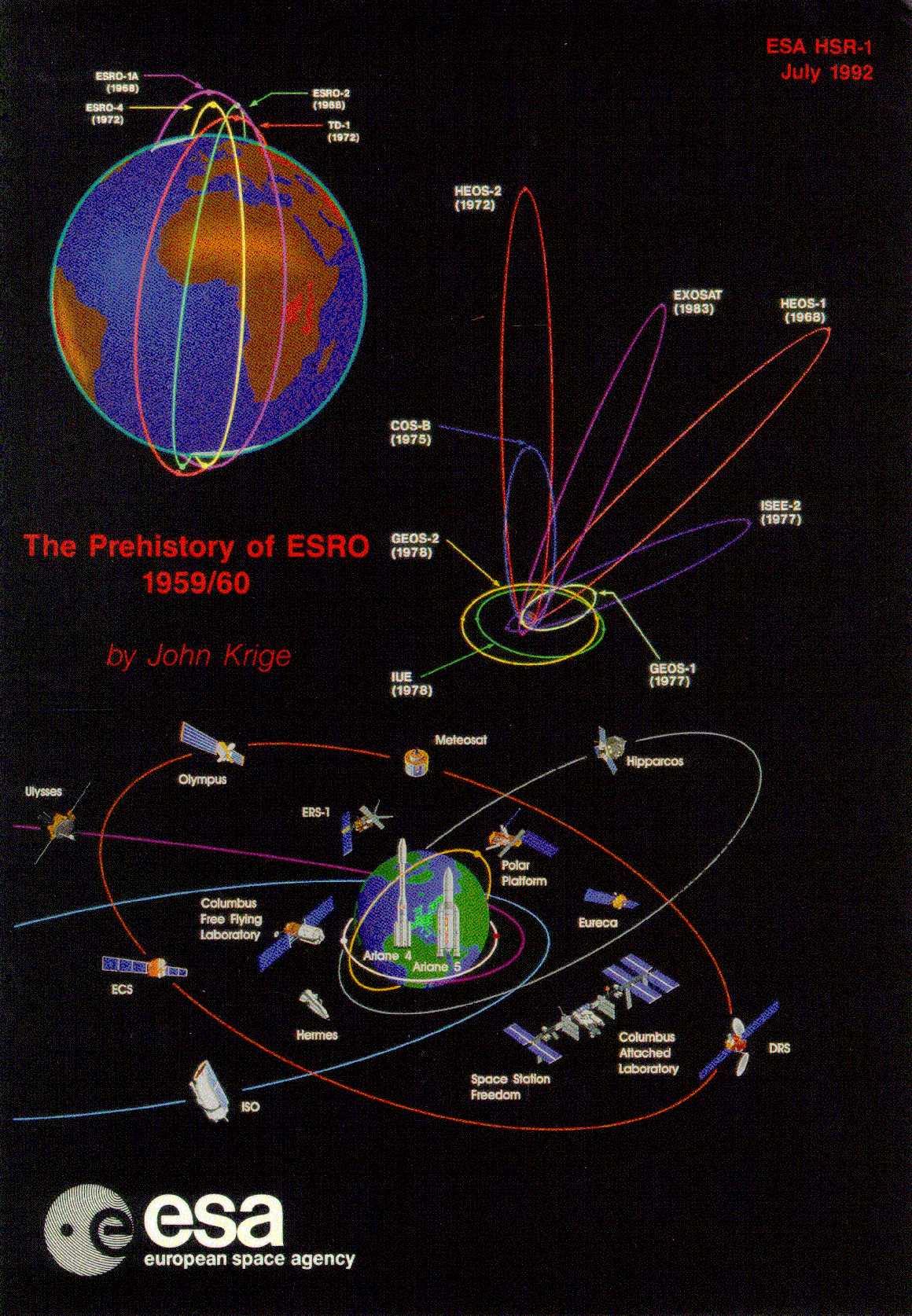 The Prehistory of ESRO 1959-1960 (HSR-001)