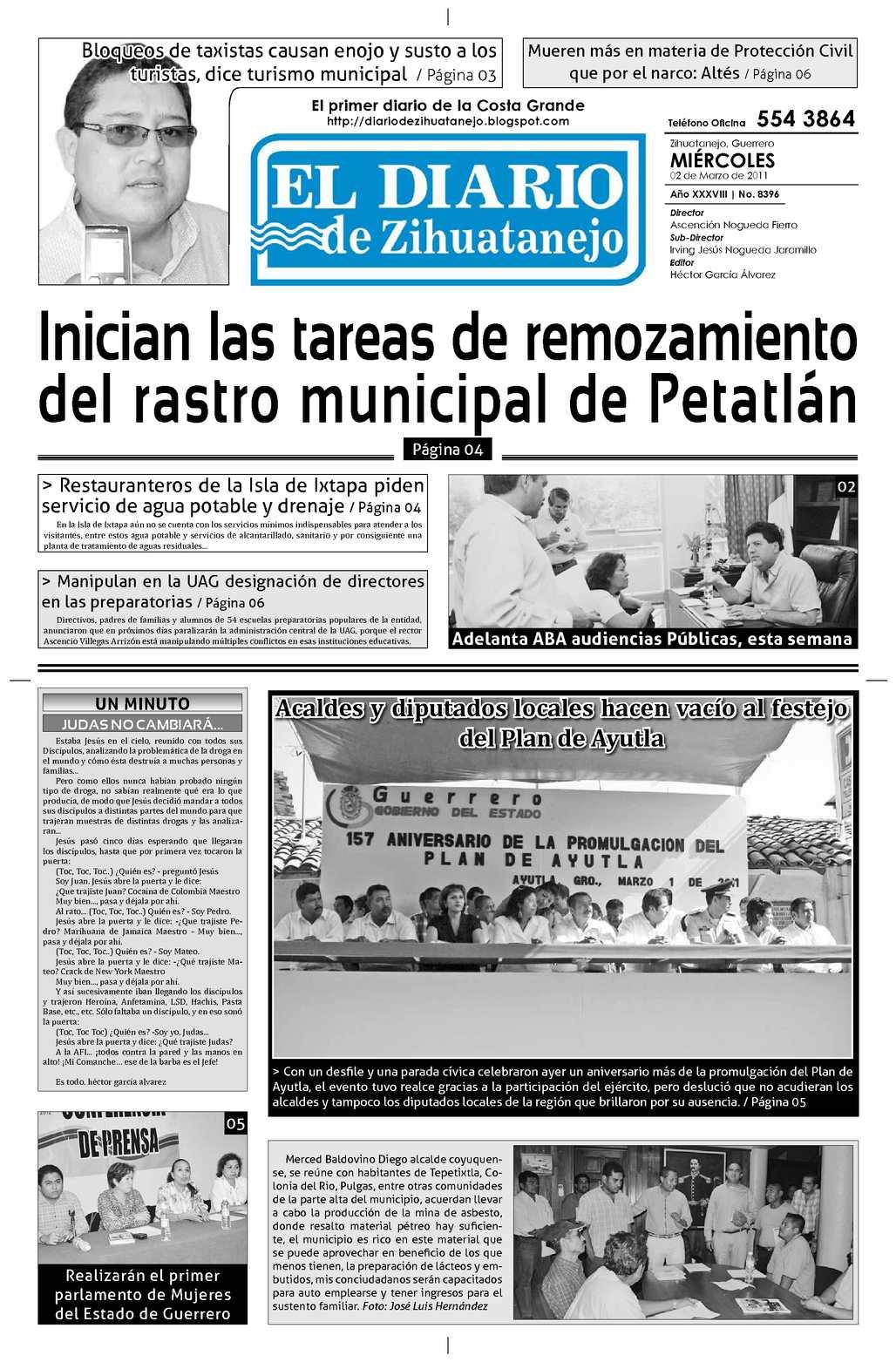 Calaméo - Edición Miércoles 02 de marzo de 2011
