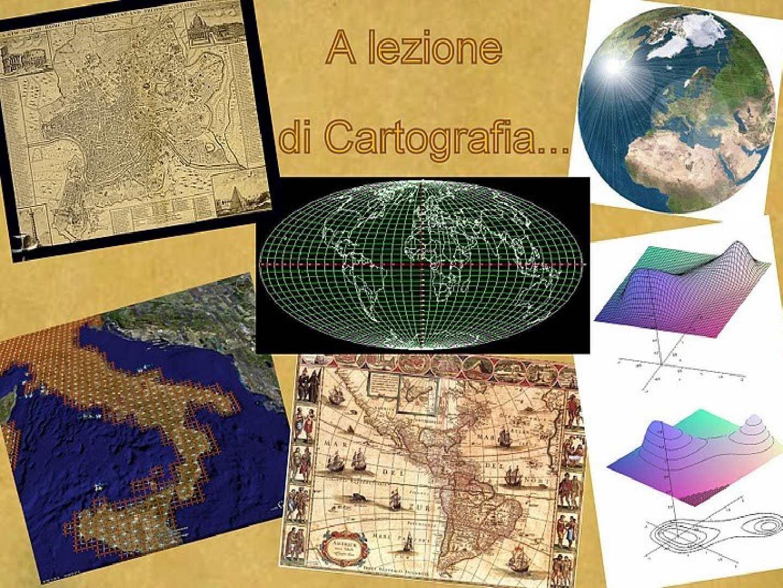 A lezione di Cartografia