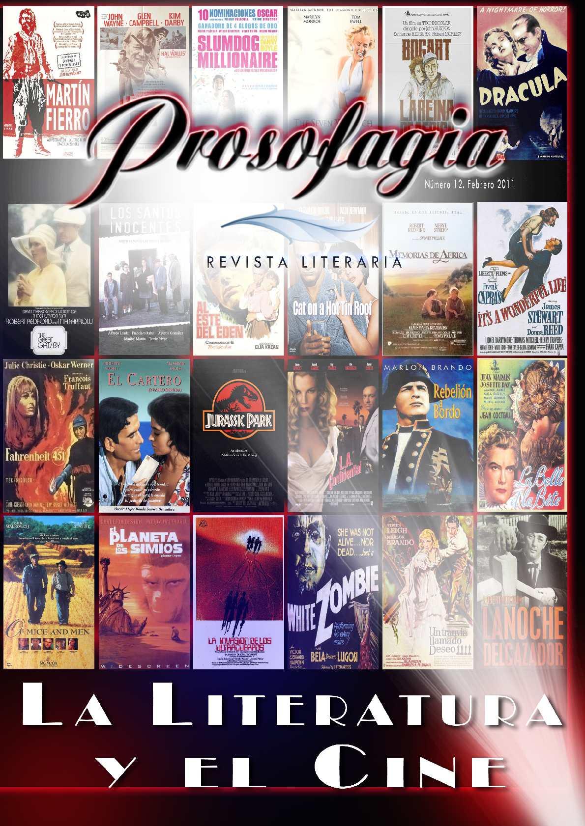Revista Literaria Prosofagia Nº 12 - Febrero 2011