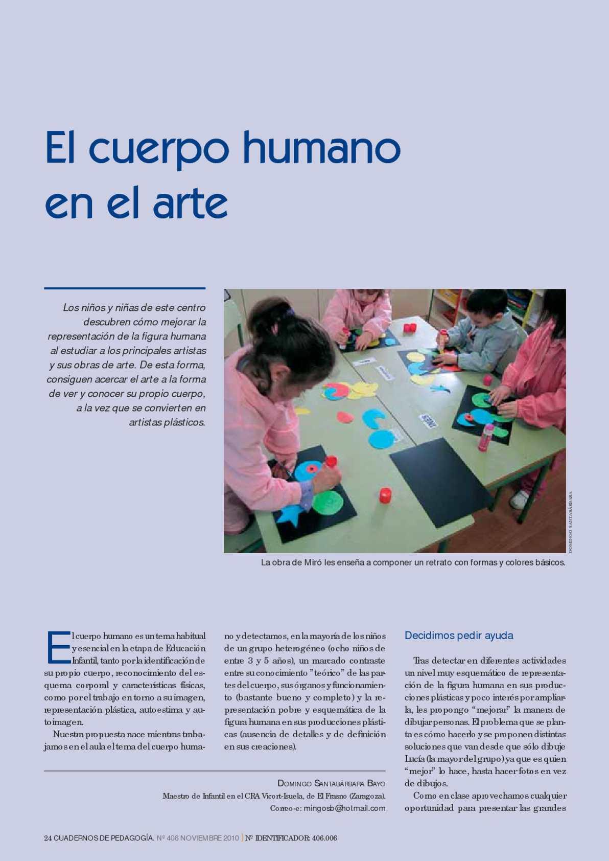 Calaméo - El cuerpo humano en el arte