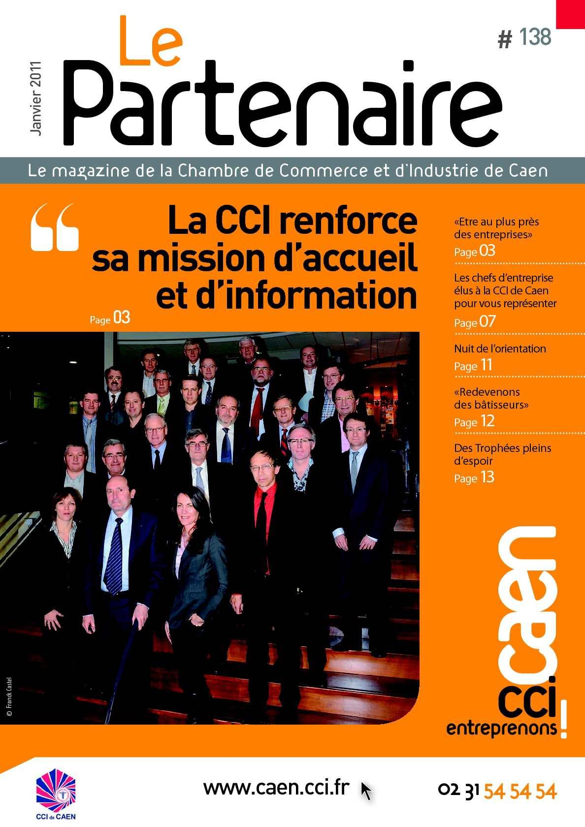 Calam o le partenaire magazine de la cci de caen n 138 - Chambre de commerce et d industrie caen ...