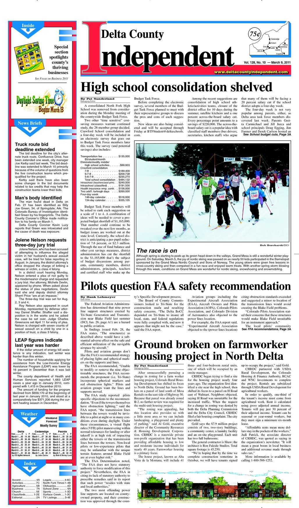 Calaméo - Delta County Independent, Issue 10, March 9, 2011