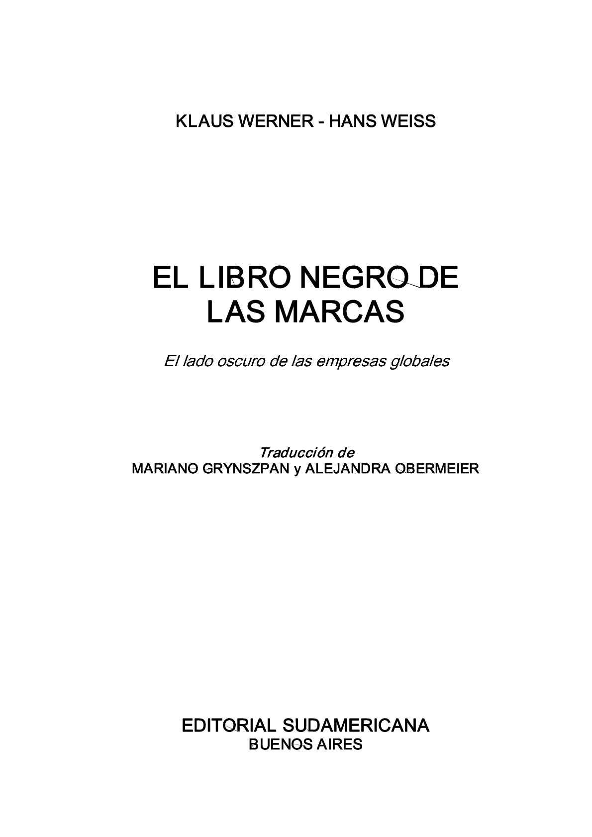 Calaméo - El libro negro de las marcas