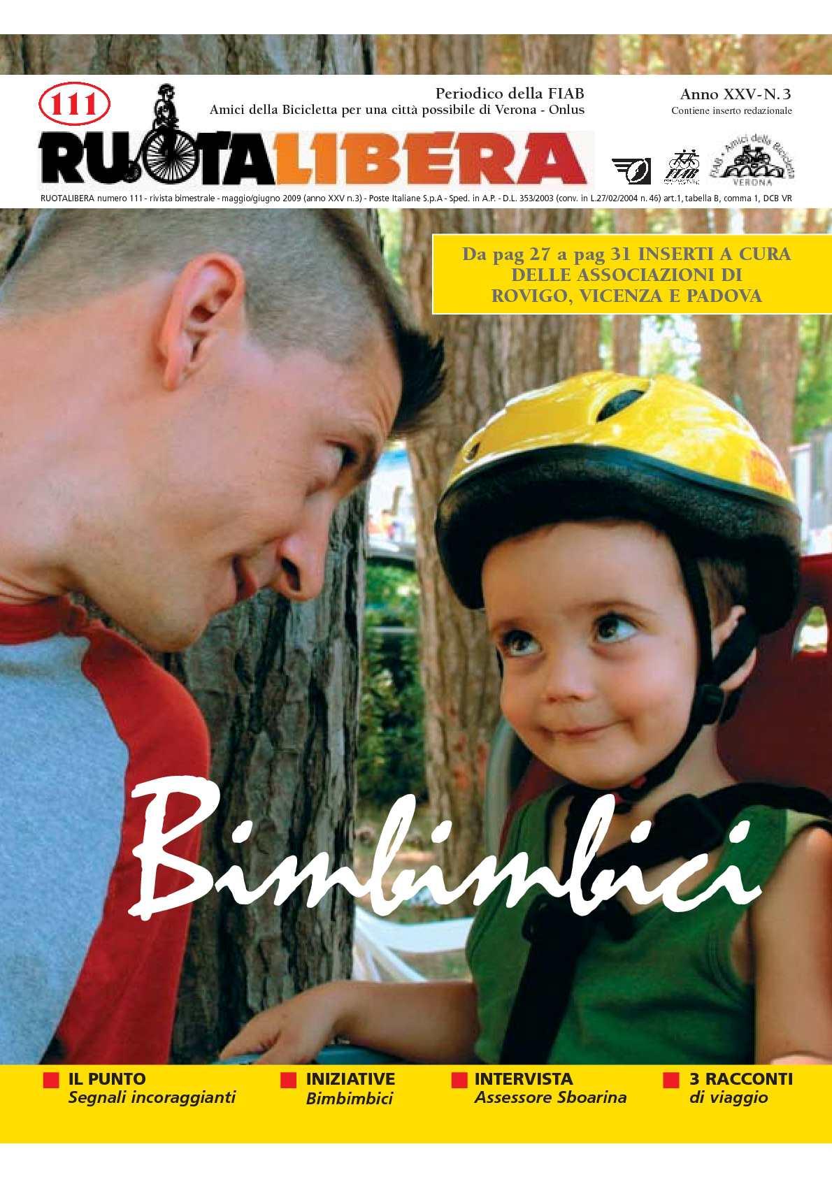 Ruotalibera 111 (maggio/giugno 2009) - FIAB AdB Verona